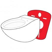 Guarnizione ISOLANTE montaggio WC e BIDET sospeso