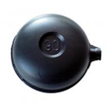 Solo sfera PLASTICA mm. 90 c/nottolino