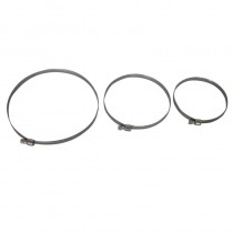Fascetta stringitubo mm. 90-110 fascia 9 acciaio AISI 430/DI