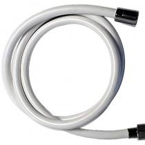 Laccio doccia PVC BIANCO cm.150 1/2 CONO-1/2 GIRELLO BUSTA APPENDIBILE
