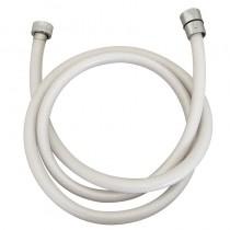 Laccio PVC retinato BIANCO cm.200 1/2 CONO -1/2 GIRELLO IDRO-Busta
