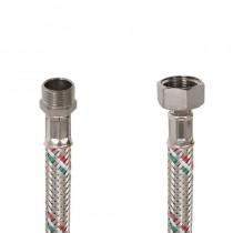 Flessibile DN8 IDRONOX cm.15 Tricolore 1/2M.-1/2F. c/guarnizione sede chiave
