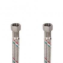 Flessibile DN8 IDRONOX cm.15 Tricolore 3/8F. c/Guarnizione -3/8F. c/Guarnizione