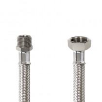 GIGANOX Flessibile DN13 INOX cm.20 1/2 M. - 3/8 F.