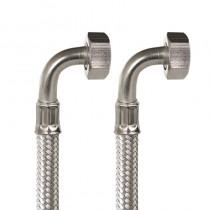 GIGANOX Flessibile DN13 cm.100 3/4Curva-3/4Curva a 0 Gr.