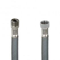 Flessibile DN8 NYLON GRIGIO cm.150 15x1 M. Girevole - Girello 3/8
