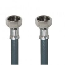Tubo PVC CARICO LAVATRICE cm.100 3/4 F.-3/4F.DADI OTT