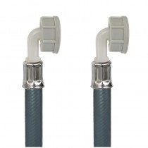 Tubo PVC CARICO LAVATRICE cm.100 3/4Curva-3/4Curva a 0 Gr.