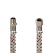 Flessibile GASOLIO DN 8 cm.20 Sede conica 1/4 M.-1/4 F. c .