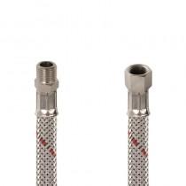 Flessibile GASOLIO DN 8 cm.25 Sede conica 1/4 M.-1/4 F. c .