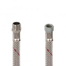 Flessibile GASOLIO DN 8 cm.25 Sede conica 3/8 M.-1/4 F