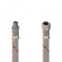 Flessibile GASOLIO DN 8 cm.25 Sede conica 1/8 M.-1/4 F. c .