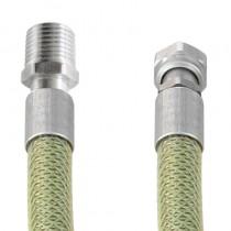 INOX-GAS EN14800 CUCINA cm 100 1/2M.-1/2F. IDRO-BUSTA